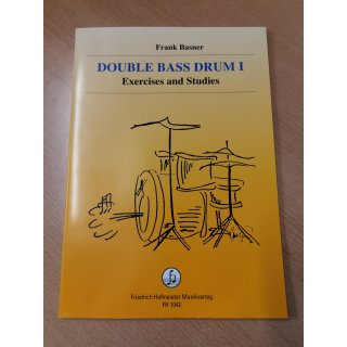 Drumset: Double Bass Drum I, Exercises and Studies