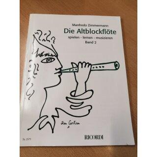 Blockflöte: Die Altblockflöte Band 2