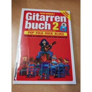 Gitarre: Peter Burschs Gitarrenbuch 2 +CD