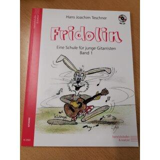 Gitarre: Fridolin, eine Schule für junge Gitarristen 1 + CD