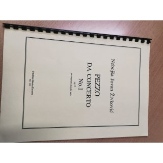 Snare: Pezzo Da Concerto, No. 1 (gelb)