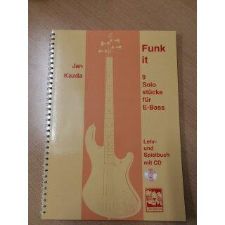 Bass: Funk it, 9 Solostücke für Bass