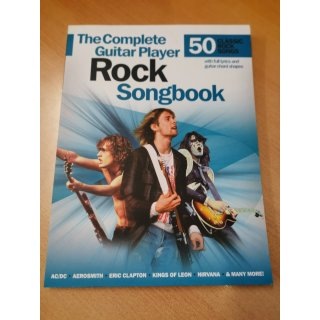 Songbook: The complete Guitar Player - Rock Songbook